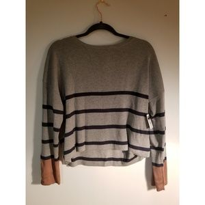 POOF cropped sweater NWT